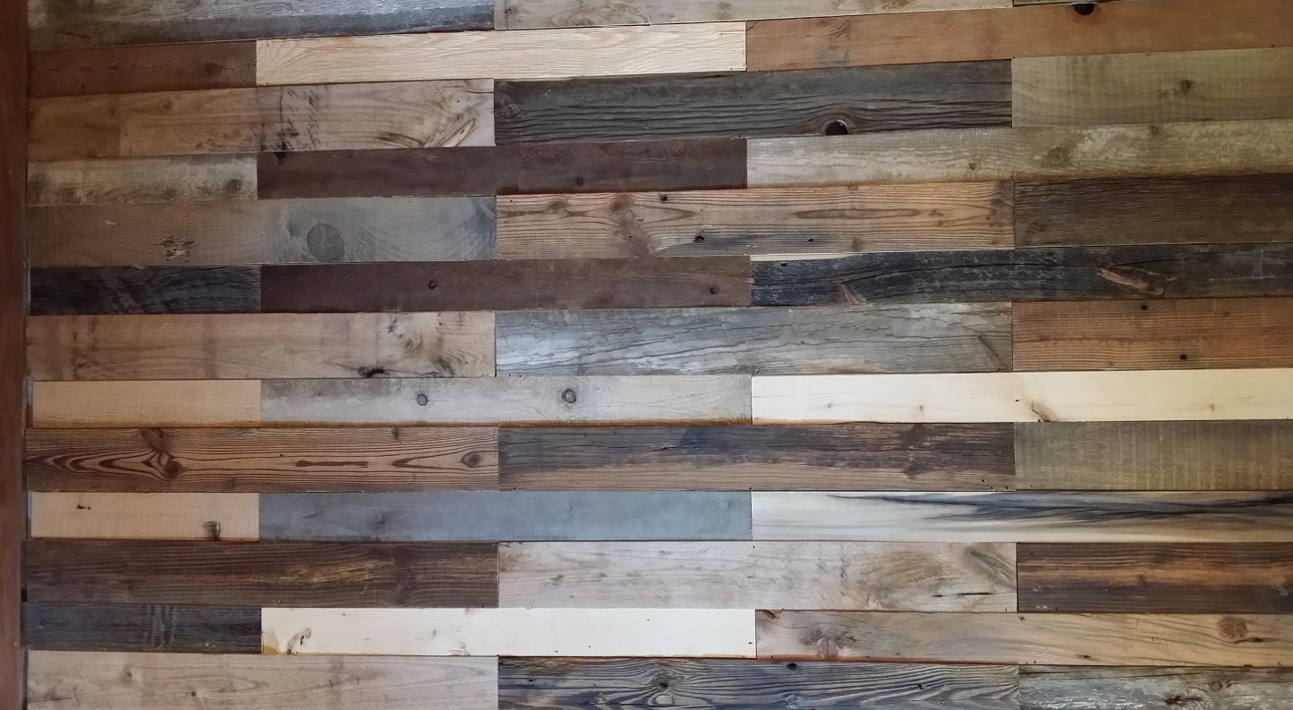 Reclaimed wood decoration projects by bois antique for Reclaimed wood colorado