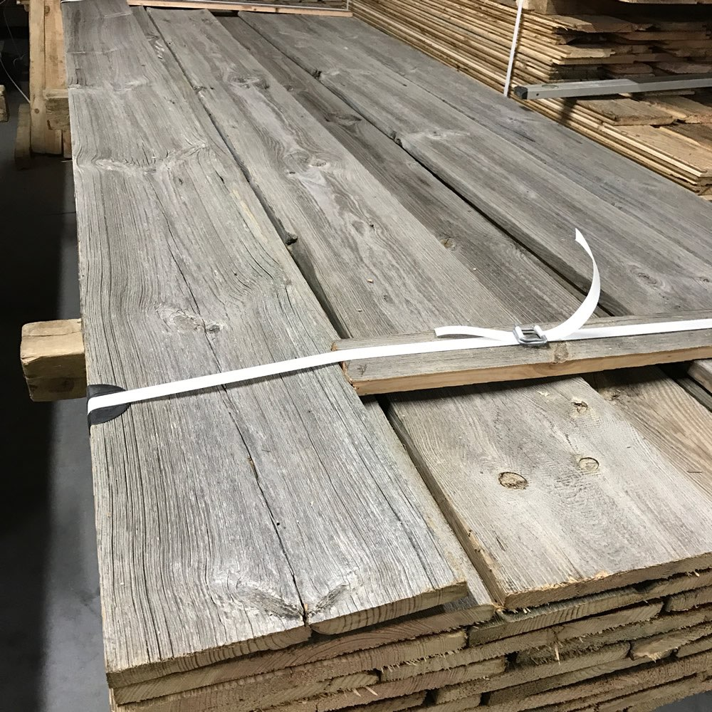 Grey barn wood claddings for wall decoration for Reclaimed wood colorado
